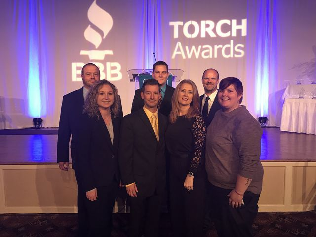 The Weird Story Of How We Won The St. Louis BBB TORCH Award For Ethics