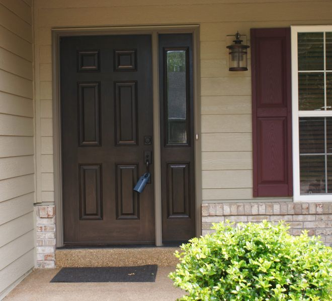 Schultz - Timberline HD LP Siding LP Staggered Edge Provia Door St. Charles 63304
