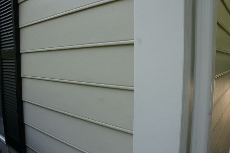 Hardie Siding Close-Up