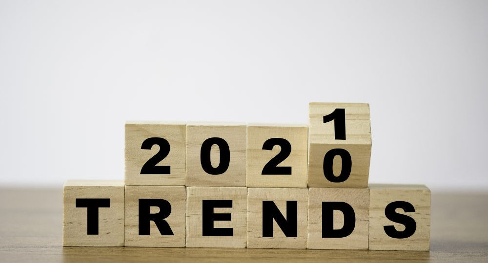 wooden blocks that say 2021 trends about trending window styles this year