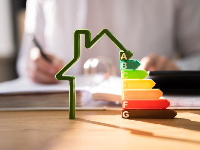 energy scale for home energy performance ratings