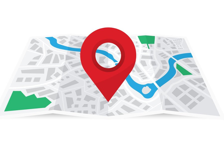 point on a map for local business